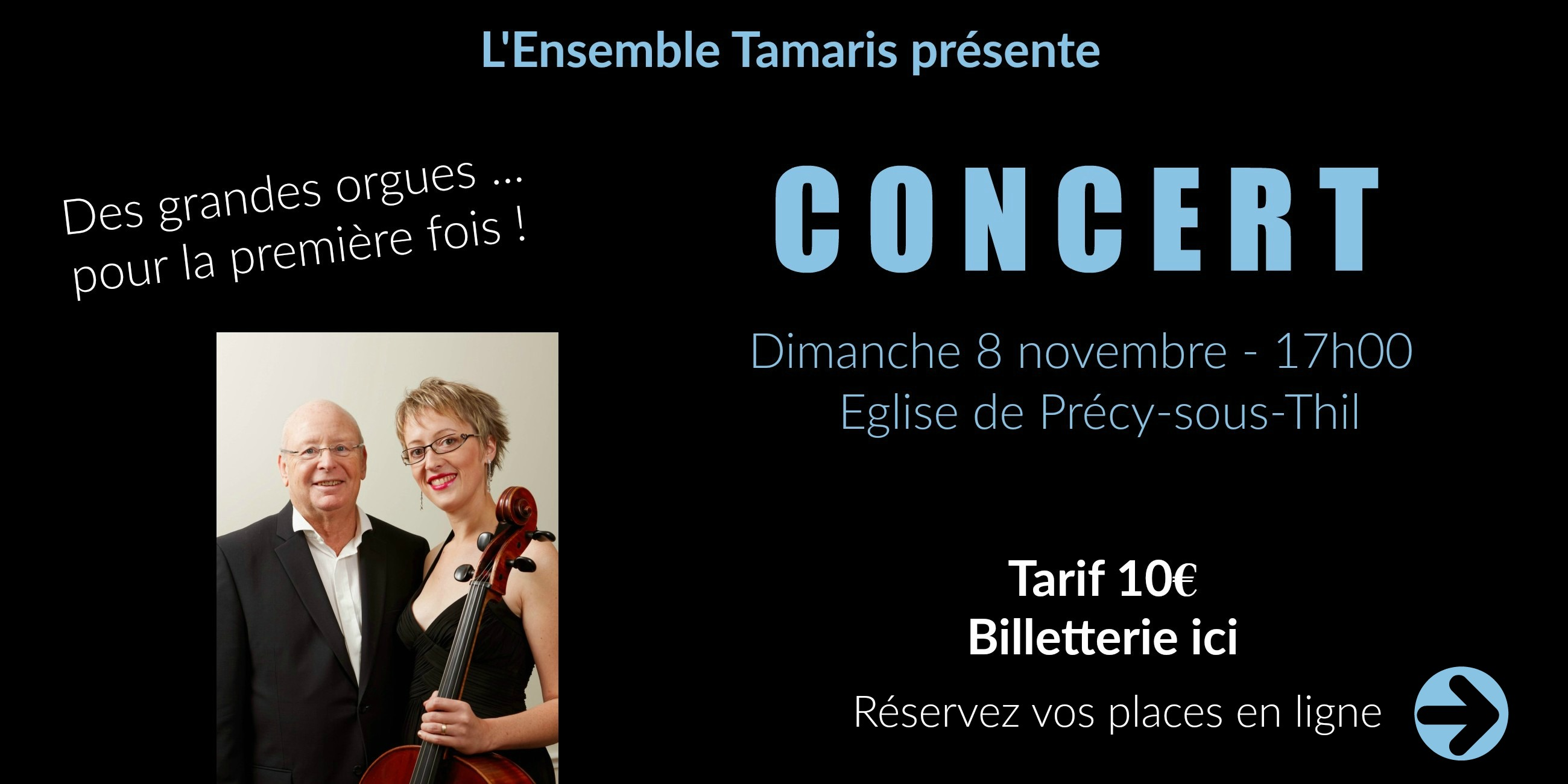 Précy Tourisme   Concert   Grandes Orgues