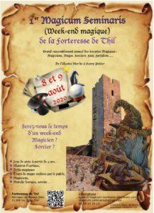 Le premier magicum Seminaris: une animation magique pour la famille le 2ème Week-end d'aôut